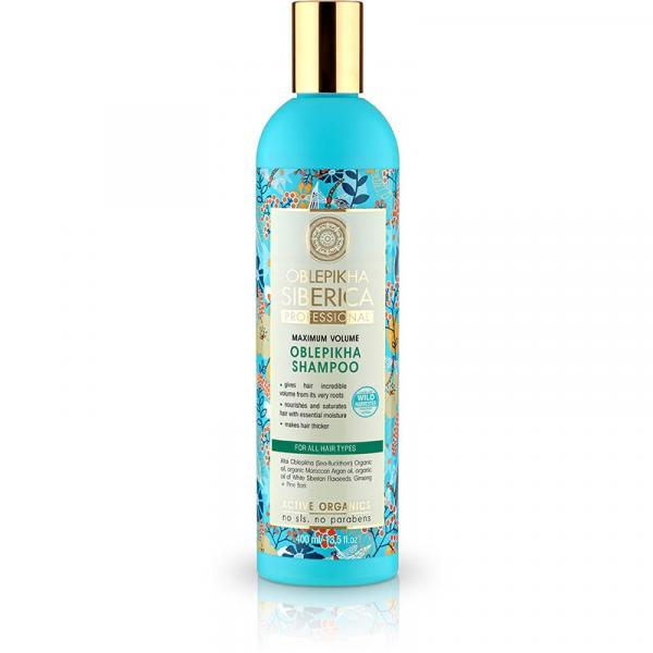 Natura Siberica seria rokitnikowa szampon do każdego rodzaju włosów 400ml