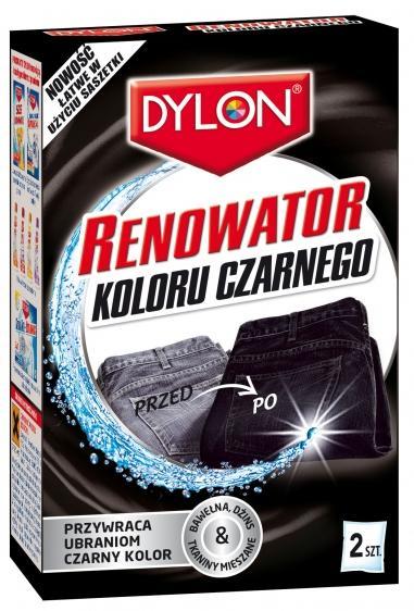 Dylon renowator koloru czarnego 2 szt.