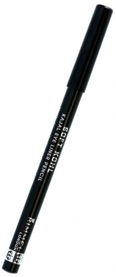 Rimmel Soft Kohl 061 Jet Black kredka do oczu czarna
