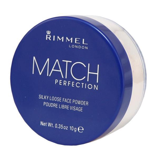 Rimmel Match Perfection puder sypki 001 Transparent