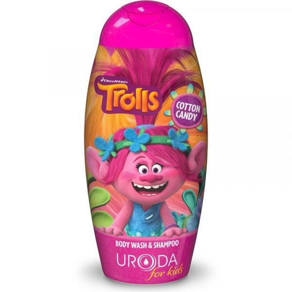 Trolls szampon i żel pod prysznic 250ml