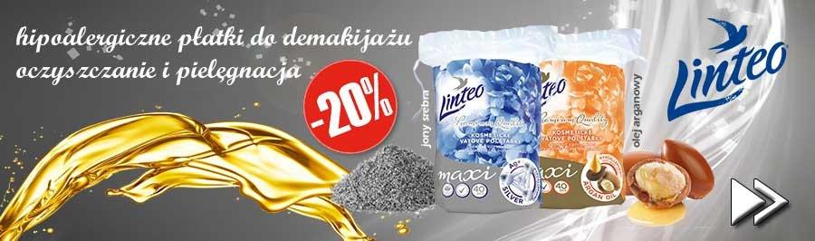 Hipoalergiczne płatki Linteo 20% taniej