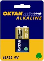 Oktan baterie alkaliczne 6LR61 kostka 9V 1szt.