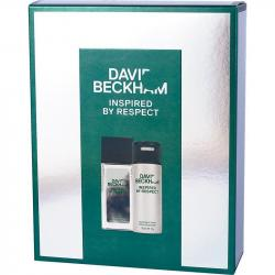 David Beckham zestaw Inspired by Respect dezodorant perfumowany 75ml + dezodorant 150ml