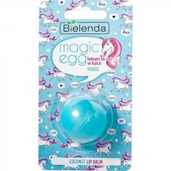 Bielenda Magic Egg Balsam do ust w kulce Kokos