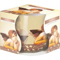 Bispol świeca zapachowa w szkle Anioł
