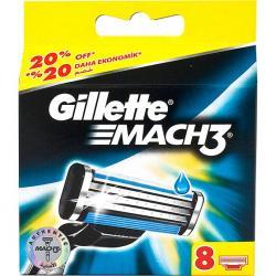 Gillette Mach 3 wkłady do maszynek 8 szt.