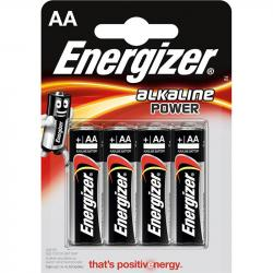 Energizer baterie alkaliczne AA LR6 4 szt. paluszki