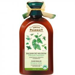 Green Pharmacy balsam do włosów zniszczonych 300ml Pokrzywa Zwyczajna