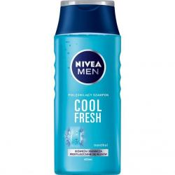 Nivea MEN szampon do włosów 400ml Cool Fresh-Mentol