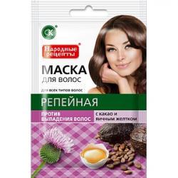Fitokosmetik Maska do włosów Łopianowa 30ml