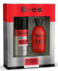 Bi-es zestaw kosmetyków EGO Red (woda toaletowa+deo)