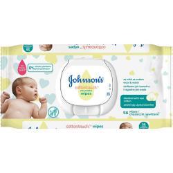 Johnson's Baby chusteczki nawilżane 56szt Cottontouch