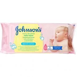 Johnsons Baby chusteczki nawilżające 56szt Extra Sensitive