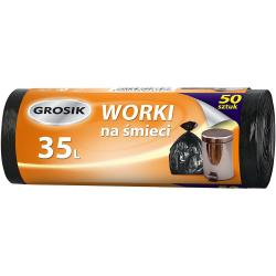 Grosik worki na odpady HD 35L/50szt.