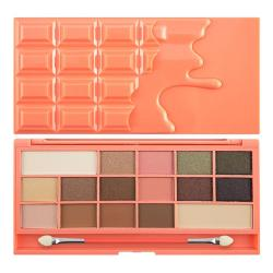 Revolution (I ♡ Makeup) paleta 16 cieni Chocolate and Peaches
