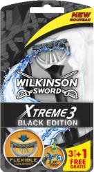 Wilkinson Xtreme3 Black Edition golarki 3-ostrzowe 3+1 gratis