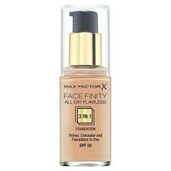 Max Factor Face Finity podkład 3w1 Warm Almond 45
