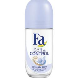 Fa roll-on Soft & Control Caring Lilia 50ml