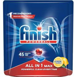 Finish All In 1 kapsułki do zmywarek 45 sztuk Lemon