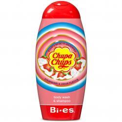 Bi-es żel pod prysznic 2w1 Chupa Chups Strawberry