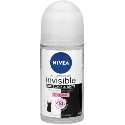 Nivea Invisible Original B&W roll-on 50ml