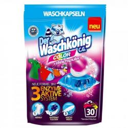 Der Waschkonig 3w1 kapsułki do prania a'30 Color
