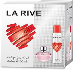 -15% La Rive zestaw Love City woda + deo