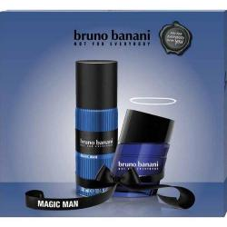 Bruno Banani MEN zestaw Magic Man DNS 75ml + dezodorant 150ml
