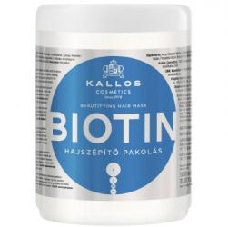 Kallos Biotin maska do włosów 1000ml