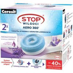 Ceresit Stop Aero 360 pochłaniacz wilgoci zapas tabletki lawendowe