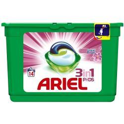 Ariel kapsułki do prania 3w1 14 sztuk Touch of Lenor