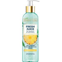 Bielenda Fresh Juice żel micelarny rozświetlający 190ml Ananas