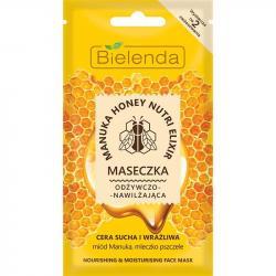 Bielenda Manuka Honey Nutri Elixir maseczka do twarzy odżywczo-nawilżająca