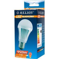 Helios LED żarówka klasyczna A60 230V 11W E27