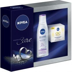 Nivea Zestaw Premium Care Q10 krem na dzień + płyn micelarny