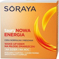 Soraya TauryNowa energia krem na młode zmarszczki 50ml cera normalna i mieszana