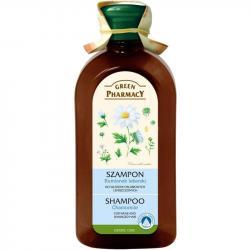 Green Pharmacy szampon do włosów 350ml Rumianek