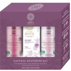 - 50% Siberica Zestaw szampon do włosów 250ml + odżywka do włosów 250ml + krem do rąk 75ml