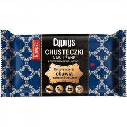 Libella Cyprys chusteczki nawilżane do obuwia 15szt.