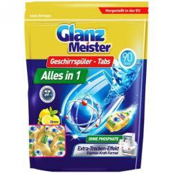 GlanzMeister tabletki do zmywarki 90 sztuk
