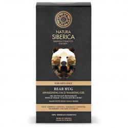 Natura Siberica Men żel do mycia twarzy pobudzający 150ml Objęcie Niedźwiedzia