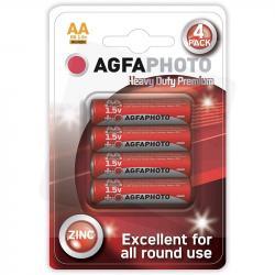 AgfaPhoto baterie cynkowe AA R6 1,5V 4szt