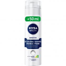 Nivea pianka do golenia Sensitive 200ml + 50ml
