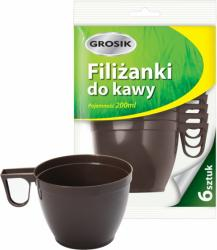 Grosik filiżanki do kawy 200ml 6szt