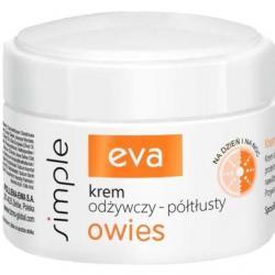 Eva Simple Krem odżywczy – półtłusty 50ml Owies