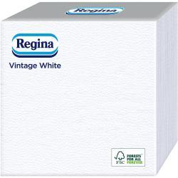 Regina serwetki 33x33cm 60 sztuk Vintage White