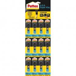 Pattex S.O.S Super Klej 1g 12 sztuk