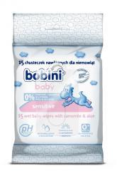 Bobini Baby chusteczki nawilżane sensitive 15 szt.