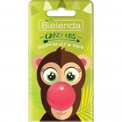 Bielenda Crazy Kiss balsam do ust w kulce Małpka